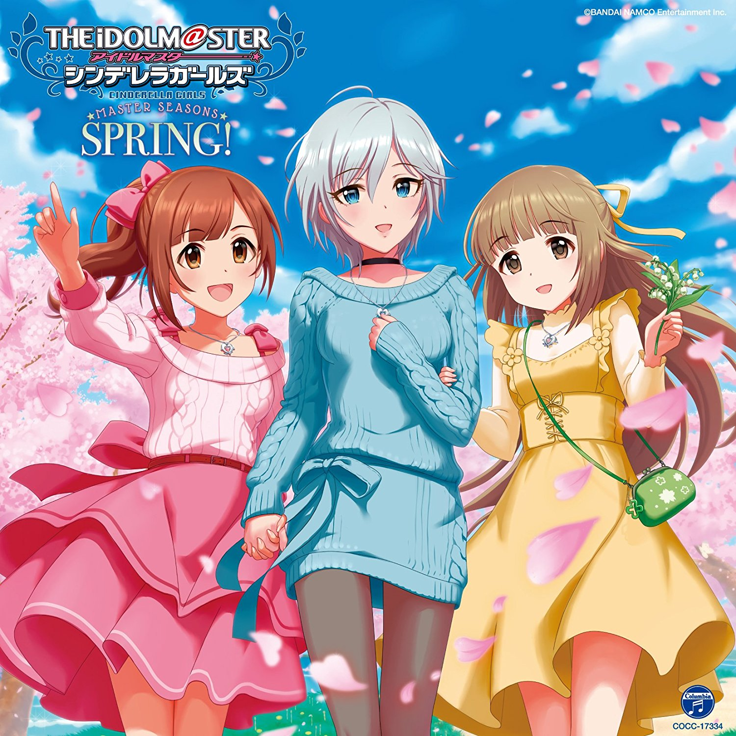 THE IDOLM@STER CINDERELLA GIRLS MASTER SEASONS SPRING